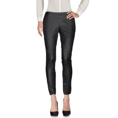 リュー ジョー LIU •JO パンツ ブラック 40 ポリエステル 100% / ポリウレタン樹脂 パンツ