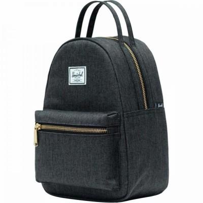 ハーシェル サプライ Herschel Supply レディース バックパック・リュック バッグ Nova Mini 9L Backpack Black Crosshatch