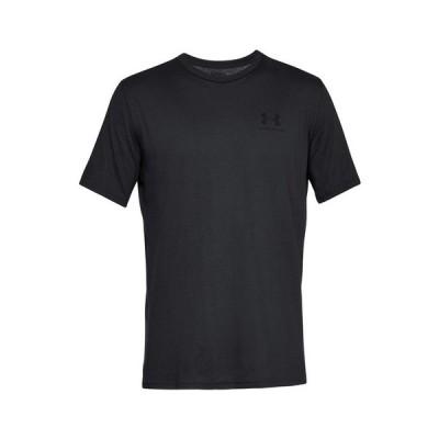 アンダーアーマー(UNDER ARMOUR) メンズ SPORTSTYLE LEFT CHEST S/S Tシャツ 1358554 BLK/BLK AT 半袖 (メンズ)