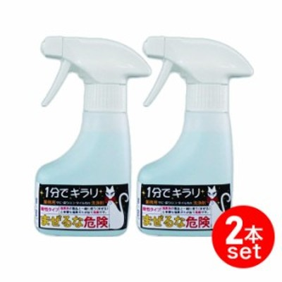 頑固汚れ除去剤(業務用・家庭用) 2本セット 1分でキラリ(180ml) はけ付