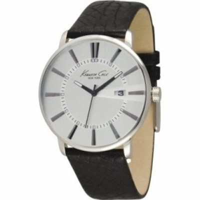 Kenneth Cole New York Leather Strap Mens watch #KC1605