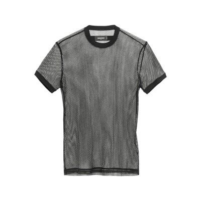 ディースクエアード DSQUARED2 T シャツ ブラック M コットン 96% / ナイロン 4% T シャツ