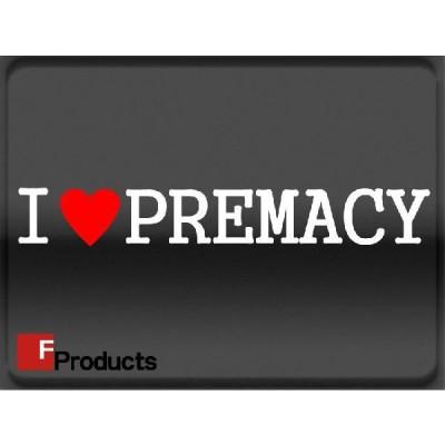 Fproducts アイラブステッカー/PREMACY/アイラブ プレマシー