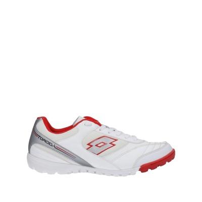 LOTTO スニーカー&テニスシューズ(ローカット) ホワイト 7 紡績繊維 スニーカー&テニスシューズ(ローカット)