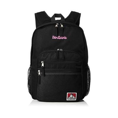 [ベンデイビス] リュック XLサイズ メッシュポケット リュックサック 通勤通学に最適です BDW-9200_BKPK ブラックピンク