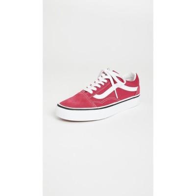 ヴァンズ Vans レディース スニーカー シューズ・靴 UA Old Skool Sneakers Cerise/True White