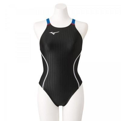 MIZUNO(ミズノ) 競泳用ミディアムカット(レースオープンバック)[レディース] N2MA122491