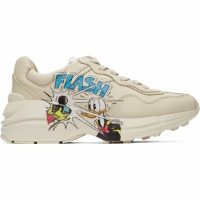 グッチ Gucci メンズ スニーカー シューズ・靴 Off-White Disney Edition Donald Duck Rhyton Sneakers Ivory