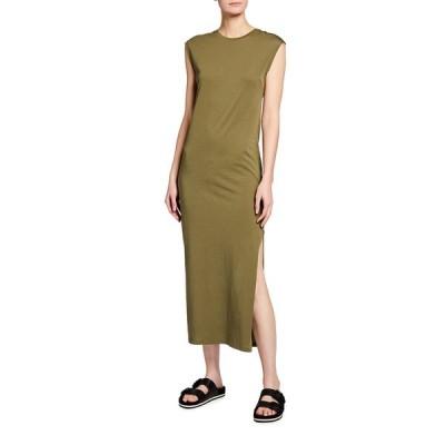 フレーム レディース ワンピース トップス Le Muscle Sleeveless Maxi Dress