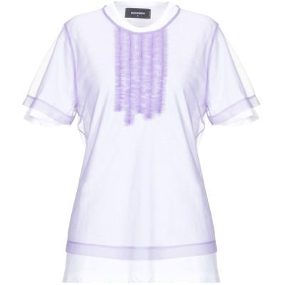 ディースクエアード DSQUARED2 T シャツ ライラック XS コットン 100% / ナイロン T シャツ