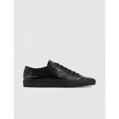 コモン プロジェクト Common Projects メンズ スニーカー シューズ・靴 Original Achilles Low Black
