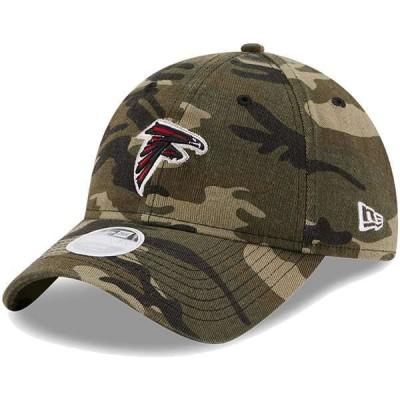 ニューエラ レディース 帽子 アクセサリー Atlanta Falcons New Era Women's Core Classic 9TWENTY Adjustable Hat Camo
