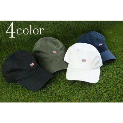 (新入荷) STITCH STRAPBACK COTTON CAP星条旗刺繍入り ストラップバック コットンキャップBLACK(ブラック) WHITE(ホワイト) KHAKI(カーキ) NAVY(ネイビー)帽