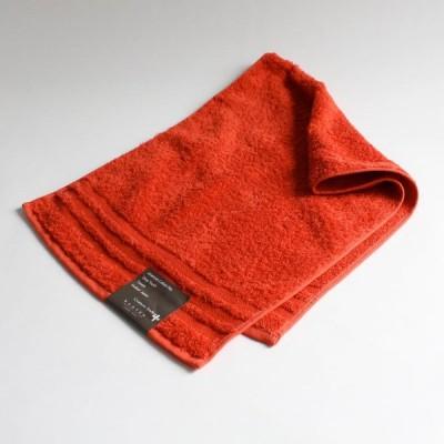 今治タオル コンテックス プラスカラー Imabari Towel Kontex Plus Color フェイスタオル ダークオレンジ