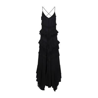 アニヤバイ ANIYE BY ロングワンピース&ドレス ブラック XS 100% レーヨン コットン ロングワンピース&ドレス