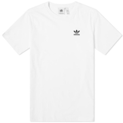 アディダス Adidas メンズ Tシャツ トップス essential tee White