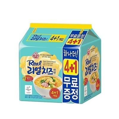 [オットギ] リアル チーズ ラーメン 5個入 / 韓国食品 / 韓国ラーメン (海外直送)