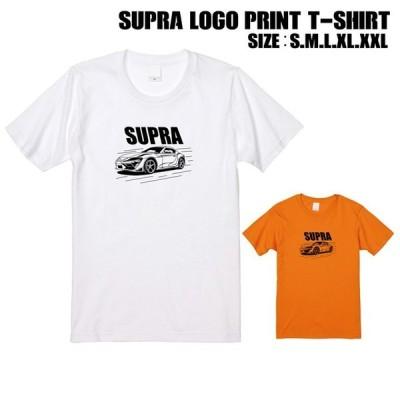 全2色 スープラロゴプリントTシャツ
