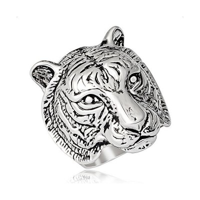 メンズ 指輪 トラ柄 獅子 リング ファッション アクサセリー (エバベア) EVBEA 16号  獅子