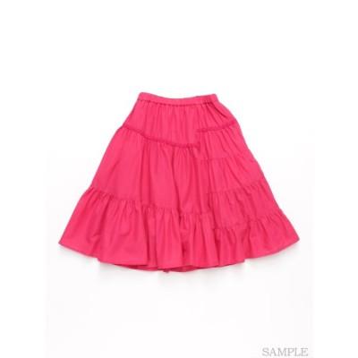 hakka kids (ハッカキッズ) ビビットカラースカート ピンク 120