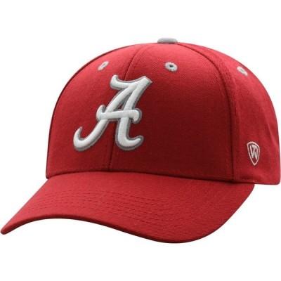 トップオブザワールド Top of the World メンズ キャップ 帽子 Alabama Crimson Tide Crimson Triple Threat Adjustable Hat