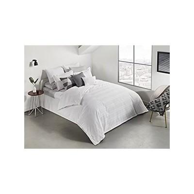 Lacoste サイドライン羽毛布団セット フル/クイーンサイズ ホワイト