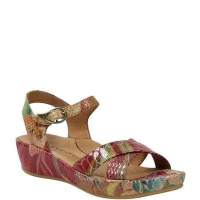 ラモールドピード レディース サンダル シューズ L'amour Des Pieds Casimiro Floral Snake Print Leather Sandals