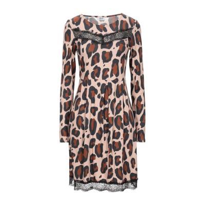 リュー ジョー LIU •JO ミニワンピース&ドレス ベージュ S レーヨン 97% / ポリウレタン 3% ミニワンピース&ドレス