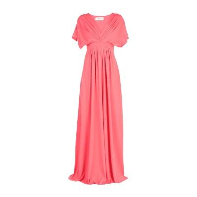 BY MALINA ロングワンピース&ドレス コーラル M ポリエステル 95% / ポリウレタン 5% ロングワンピース&ドレス