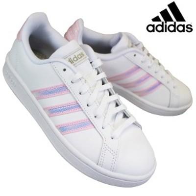 アディダス adidas FY8925 グランドコート LEA W レディース ローカットスニーカー テニスシューズ