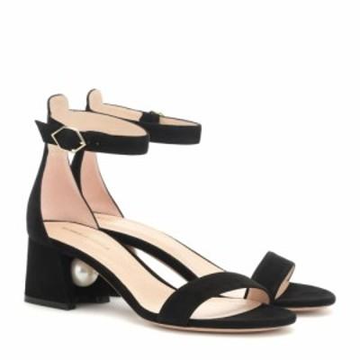ニコラス カークウッド Nicholas Kirkwood レディース サンダル・ミュール シューズ・靴 miri suede sandals Black