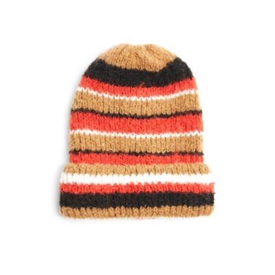 トップショップ TOPSHOP 帽子 レッド one size ポリエステル 100% 帽子