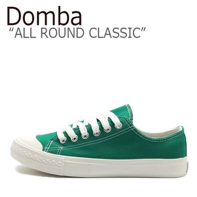 ドンバ スニーカー DOMBA メンズ レディース ALL ROUND CLASSIC オール ラウンド クラシック GREEN グリーン WHITE ホワイト C-509 シューズ