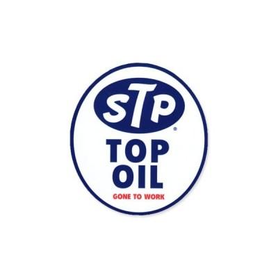 ステッカー アメリカン 車 おしゃれ バイク かっこいい おしゃれ レトロ オイル カーステッカー アメリカン雑貨 STP TOP OIL