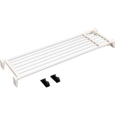 HJW110  アイリスオーヤマ(株) IRIS 超強力伸縮ワイド棚  ホワイト WO店