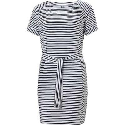 ヘリーハンセン レディース ワンピース トップス Helly Hansen Women's Thalia Summer Dress Navy Stripes
