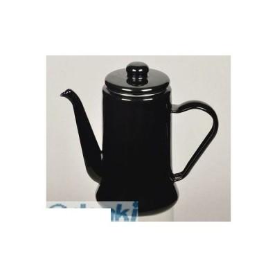 パール金属 [HB-2583] カフェテリア ホーローコーヒーポット1.1L(ブラック) HB2583【キャンセル不可】ポイント5倍