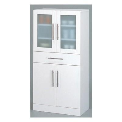 カトレア 食器棚 60-120 (23463) 代引・時間指定不可