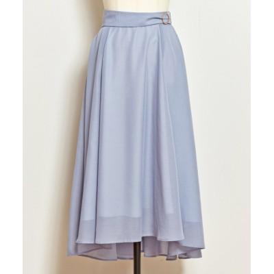 【ノエラ】 フィッシュテールカラースカート レディース ブルー M Noela