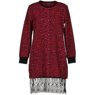 ツインセット シモーナ バルビエリ TWINSET ミニワンピース&ドレス レッド XS 95% コットン 5% ポリウレタン ポリエステル ミニワ