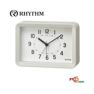 リズム時計 A Series A6サイズ 掛置兼用 8RE675SR03 アラーム機能付 時計 RHYTHM