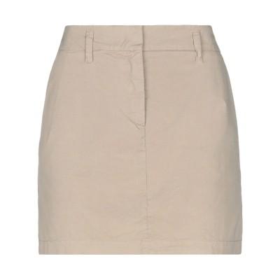 アスペジ ASPESI ミニスカート ベージュ 42 コットン 100% ミニスカート