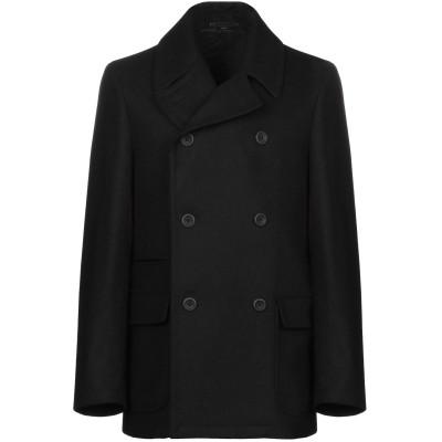 イーヴォ HEVÒ コート ブラック 52 ウール 50% / ポリエステル 35% / ナイロン 15% コート