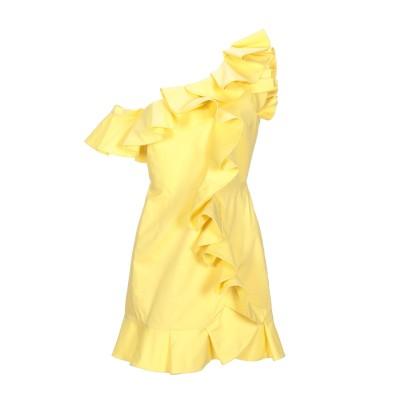 VIVETTA ミニワンピース&ドレス イエロー 42 コットン 97% / ポリウレタン 3% ミニワンピース&ドレス