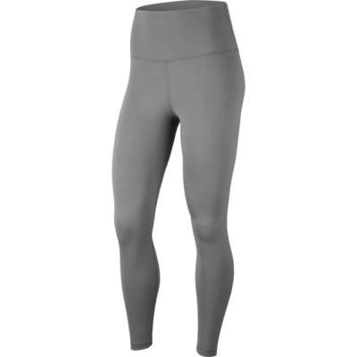 ナイキ Nike レディース ヨガ・ピラティス スパッツ・レギンス ボトムス・パンツ 7/8 Yoga Tights Particle Grey