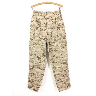 古着 00s 米軍 USMC MARPAT デザート デジタル カモ 迷彩 カーゴ パンツ S-R 古着