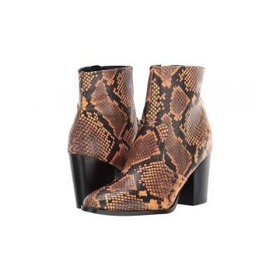 Steve Madden スティーブマデン レディース 女性用 シューズ 靴 ブーツ アンクルブーツ ショート Dallas Ankle Bootie - Yellow Snake
