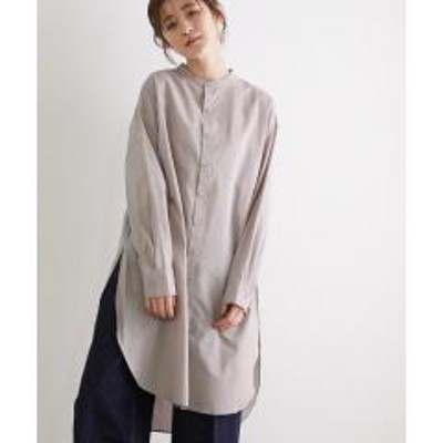 ROPE' PICNIC(ロペピクニック)コットンテンセルローンチュニックシャツ【お取り寄せ商品】