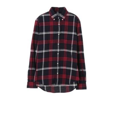 JOHN'S CLOTHING  / JOHN'SCLOTHING/ジョンズクロージング ボタンダウン チェックシャツ