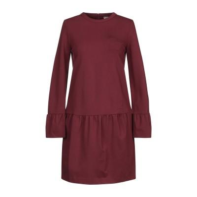 DOUUOD ミニワンピース&ドレス ココア 40 レーヨン 69% / ナイロン 25% / ポリウレタン 6% ミニワンピース&ドレス